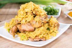 Kuracie mäso s karí ryžou