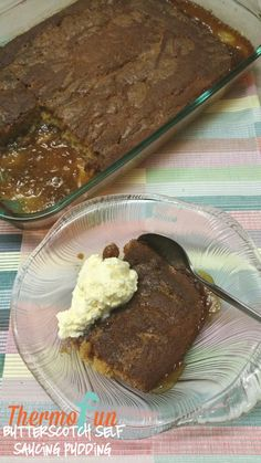 If you enjoy a good self saucing pudding - and who doesn't! Then this Thermomix Butterscotch Self Saucing Pudding is the perfect end to a great night! Self Saucing Pudding, Butterscotch Pudding, Food Hacks, Food And Drink, Cooking Recipes, Sweets, Puddings, Breakfast, Desserts