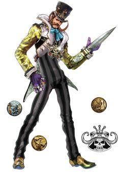 Dampierre - Characters & Art - SoulCalibur V