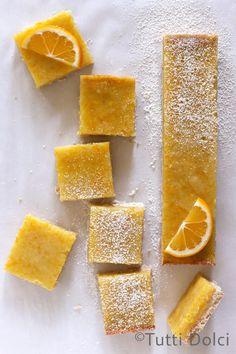 Meyer Lemon Coconut Bars | Tutti Dolci