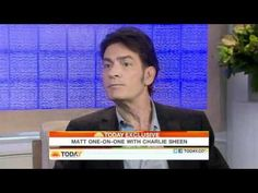 Charlie Sheen to Matt Lauer There's always a chance to fix things - YouTube