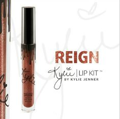 Last One Kylie Cosmetics -- Reign Metal lip One Kylie Cosmetics Metal Matte Lipstick Lip Kit in the color Reign. This lip kit is brand new, never opened. The lip kit includes one metal matte lipstick. [NO TRADES]  Kylie Cosmetics purchases will be shipped in the original packaging (box and card) if you purchase 3, or more, Kylie Cosmetics products at the same time. Kylie Cosmetics Makeup Lipstick