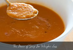 There's something magical about soup when it comes to weight loss.  Have you ever had a soup for a starter and find that you have no appetite for your main course?  Even though thick soup is roughly ... http://latesthealthreviews.com/the-power-of-soup-for-weight-loss/