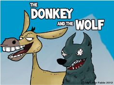 Extended activities, vocab and more for The Donkey and the Wolf, Five Little Ducklings, The Lion and the Mouse. #readforgood