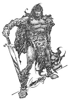 Alex Niño (1940) Artista de cómic filipino.- Conan the Barbarian.