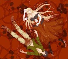 Araragi Koyomi / Kiss-Shot-Acerola-Orion-Heart-Under-Blade【Kizumonogatari】 Anime Manga, Anime Art, Hanekawa Tsubasa, Shinobu Oshino, Kiss Shot, Monogatari Series, Japanese Cartoon, Best Waifu, Dope Art