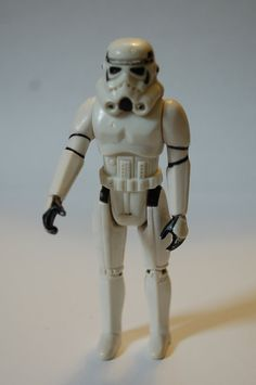 "Storm Trooper from Star Wars Action Figure 1977 3.5"" FREE Shipping on Etsy, $7.75"