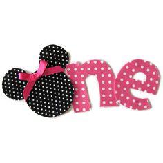 Minnie Mouse 1st birthday shirt idea