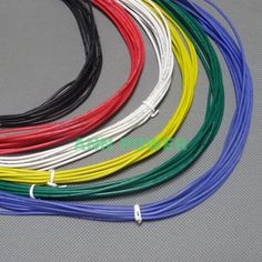 22AWG Silicone Wire 22 AWG Silica Gel Wires Conductor Construction 60/0.08mm 22# High Temperature Tinned Copper Cable
