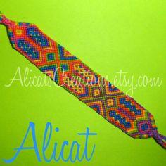 Photo of #3084 by Alicat - friendship-bracelets.net