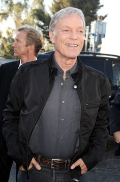 "Richard Chamberlain Photos Photos: Premiere Of Universal's ""I Now Pronounce You Chuck And Larry"" - Arrivals Film Red, Richard Chamberlain, Universal City, Me Now, Oscar Wilde, Bellisima, Larry, Leather Jacket, Hollywood"