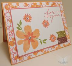 Hi Stampers, and happy Tuesday!  I hope you are all having a wonderful week.  I have a super fun card to share with you today using two bran...