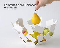 Alessi La Stanza Dello Scirocco Fruit Holder by Mario Trimarchi. Love it in white.