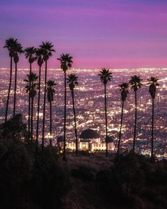 Los Angeles at night by @lommylundberg by CaliforniaFeelings.com california cali LA CA SF SanDiego