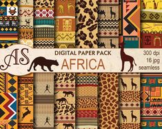 Check out our tribal selection for the very best in unique or custom, handmade pieces from our shops. Digital Scrapbook Paper, African Textiles, African Quilts, African Patterns, African Fabric, Kente Cloth, Card Patterns, Digital Collage, Clipart