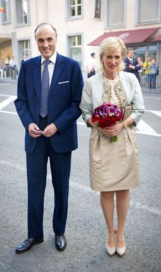 Princess Astrid and Princ Lorenz of Belgium attend pre-National Day concert July 20, 2014
