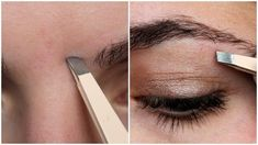 Perfect eyebrow shapes: step by step instructions – Eyebrows Eyebrow Shaper, Eyebrow Tinting, Eyebrow Brush, Eyebrow Makeup, Makeup Eyebrows, Eyebrow Regrowth, Eye Brows, Perfect Eyebrow Shape, Perfect Brows