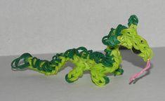 Rainbow Loom Dragons! Awesome!!!