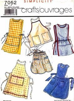 Aprons! For aproning!