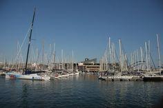 Порт Барселоны.