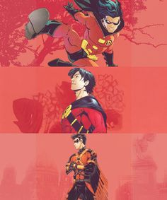 "Tim Drake/Robin/Red Robin ""I'm not your friend. I'm Red Robin and I'm going to kick your ass."""