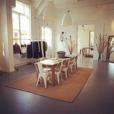 MiH Jeans London Showroom.