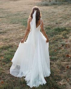 Best Wedding Dresses Collections for 2021/2022 ❤ best wedding dresses a line low back with spaghetti straps simple suzanneneville #weddingforward #wedding #bride Popular Wedding Dresses, Cute Wedding Dress, Wedding Dress Trends, Wedding Dress Shopping, One Shoulder Wedding Dress, Wedding Gowns, Wedding Bride, Dream Wedding, Spagetti Strap Wedding Dress