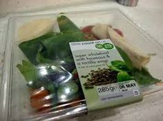 M&S Tortilla & Humous Salad @ 269 calories Low Calorie Salad, Salad Bowls, Packaging, Awesome, Wrapping