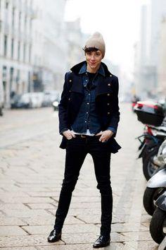 Autumn Tom Boy trendy-ness