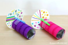 STEM/STEAM and Science for Kids: How to Make a Kaleidoscope using a cardboard tube- explore light, reflections, and symmetry! (Meets NGSS- Next Generation Science Standards) ~ BuggyandBuddy.com