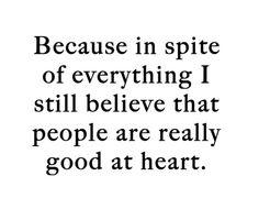I truly believe that! ;)
