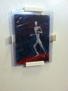 MAGNETIC Art Card Display Frame for ACEO/ ATC, Baseball Cards, Collector Cards