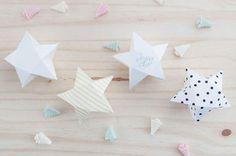 Boîte surprise en étoile pour Noël ou Nouvel An DIY