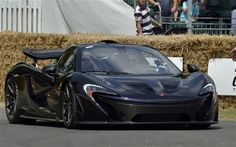 Watch Jenson Button take the Epic McLaren P1 for a spin (Video)