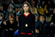 Sébastien Meyer and Arnaud Vaillant's second runway show for Courrèges had the flavor of a mini Apple-product launch.