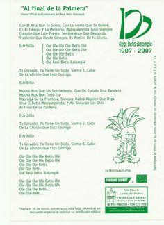 Himno del Betis (por Juan Manuel Soto)