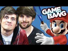 Smosh Game Bang with Mario Tennis