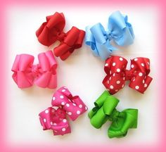 how to make a two layer boutique hairbow