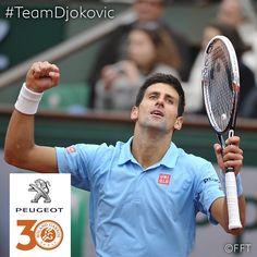 #Peugeot #partnership #ambassador #TeamDjokovic #RG14