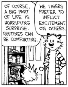 Hobbes Deep - Horrifying surprise is a big part of life