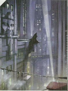 Batman Arkham Knight concept art