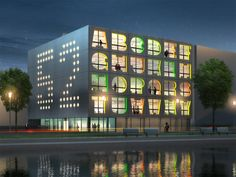 Alphabet Building by MVRDV Architects