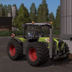 Claas Xerion. #fs17