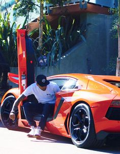 Surely array of Lamborghini's should make him less angry? Check out our 'Celebrity Cars of the Week' by hitting Brown in the face with your cursor or your thumb ; My Dream Car, Dream Cars, Chirs Brown, Celebrity Cars, Robin Thicke, Sweet Cars, Expensive Cars, Amazing Cars, Awesome