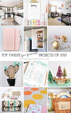 Top Twelve Fan Favorite Projects of 2015 - Delineate Your Dwelling