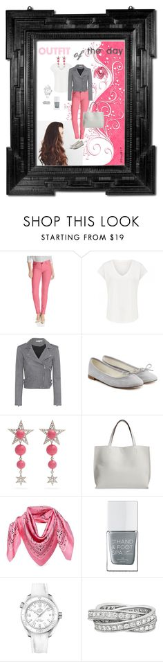 """""""outfit of the day"""" by balliquina on Polyvore featuring KUT from the Kloth, IRO, Repetto, Miu Miu, Street Level, MCM, The Hand & Foot Spa, OMEGA and Cartier"""
