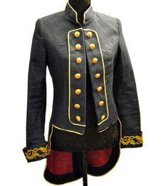 Baronesa Azul women's jacket | La Condesa by Marina Conde, Madrid | Autumn-Winter 2010
