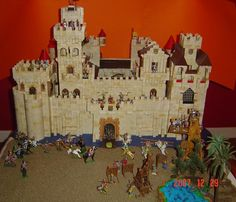Exin Castillos... Model Castle, Toy Castle, Nostalgia, Childhood Toys, Toy Soldiers, Doll Furniture, Old Toys, Bowser, The Past