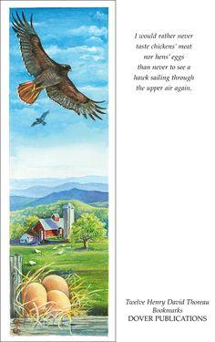 Henry David Thoreau Bookmarks