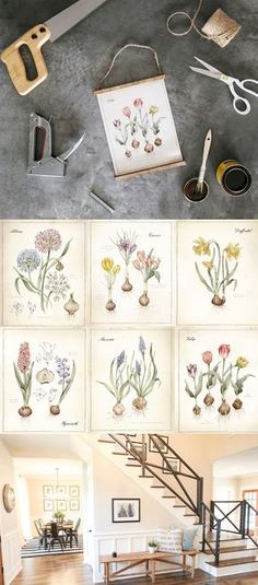 best farmhouse printables collection by carft-mart #freeprintables